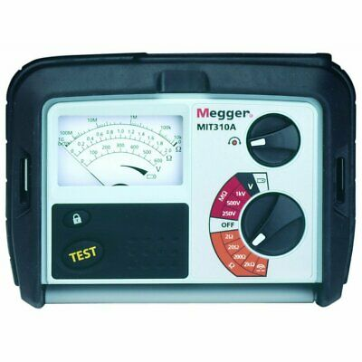 $530 • Buy Megger MIT310A-EN 1000V Insulation And Continuity Tester - NEW