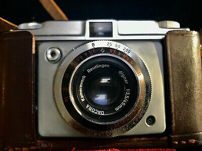 Vintage Ilford Sportsman Camera With Lens 1/2 Leather Case • 9.99£
