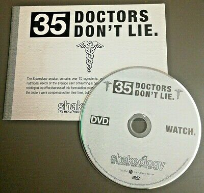 £5.49 • Buy Shakeology 35 Doctors Dont Lie Tips Coach Promo DVD