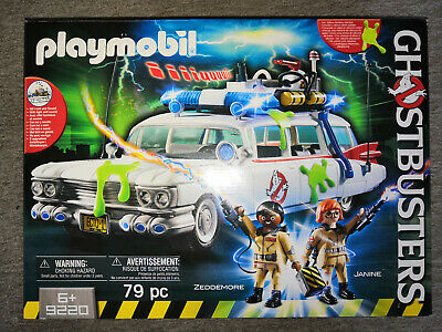 Playmobil 9220 Ghostbusters Ecto 1 - New In Box • 38£