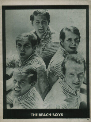 £5.99 • Buy The Beach Boys Poster Page . Brian Wilson . 60b