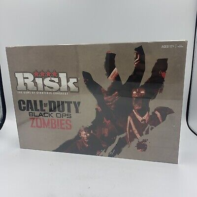 $15.99 • Buy RISK Call Of Duty Black Ops Zombies Board Game Brand New Sealed (C2)