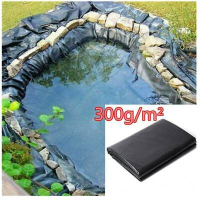 300g/sq.m Fish Pond Liner Membrane Reinforced Gardens Pools Landscaping 10m*6m • 76.09£