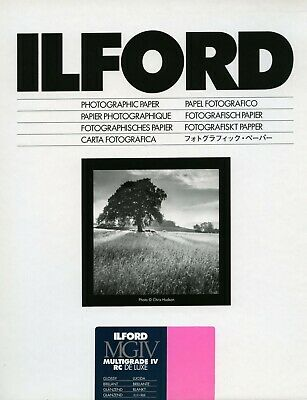 Ilford Multigrade IV RC Glossy 8x10  (20.3x25.4cm) 25 Sheets • 19.99£