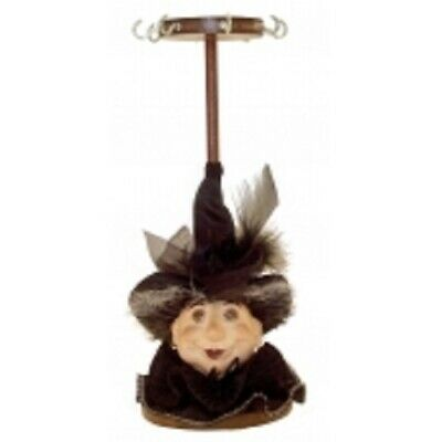 Witches Of Pendle *lavina  Black Jewellery Stand 23cms  Info Book Occult/ Witch • 14.95£