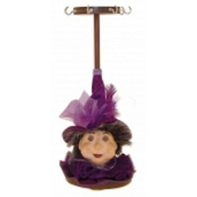 Witches Of Pendle *lavina  Purple Jewellery Stand 23cms  Info Book Occult/ Witch • 14.95£