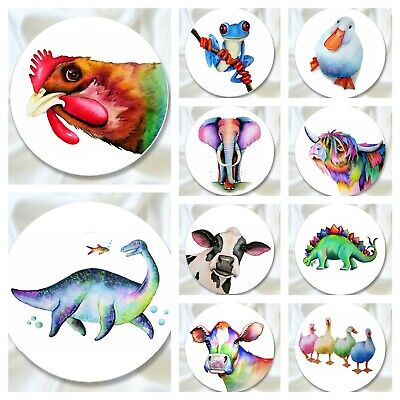 £13.99 • Buy Gift Set Of Dressmaking Pattern Weight Watercolour Animals By Artist Maria Moss