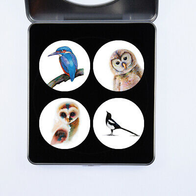 £13.99 • Buy Pattern Weights Gift Set Of Birds Watercolour Design By Artist Maria Moss