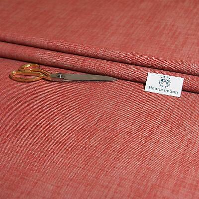 Soft Twill Red Upholstery Fabric By The Metre, Ideal For Soft Furnishings • 7.97£