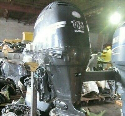 AU3050.64 • Buy 2002 Suzuki Outboard Motor DF115 4 Stroke 115hp For Parts /Repair Required