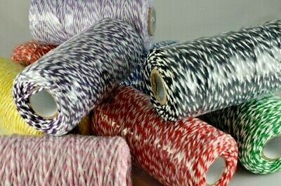 £1.65 • Buy Bakers Twine 2m 5m 10m Crafts 1mm String Gift Wrap Tags Cotton Party Ribbon
