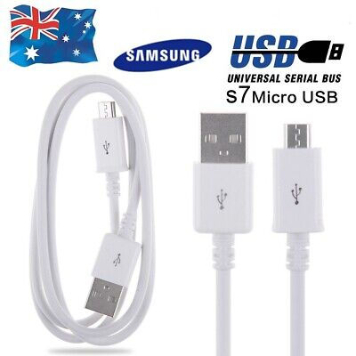 AU4.99 • Buy 1.2M Micro USB Fast Charger Charging Cable Lead Charge For Samsung Galaxy S7 S6
