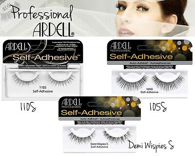 £5.49 • Buy Ardell Self-Adhesive Lashes Stick On Glue Enhanced Look 105S 110S Demi Wispies