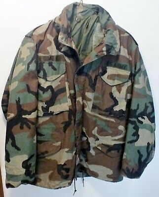 $57.75 • Buy Us Army M65 Field Jacket Cold Weather Camo - Med-short - Excellent.