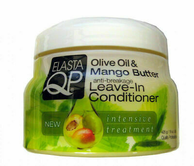 £7.99 • Buy Elasta QP Olive Oil And Mango Butter Anti Breakage Leave In Conditioner 15oz