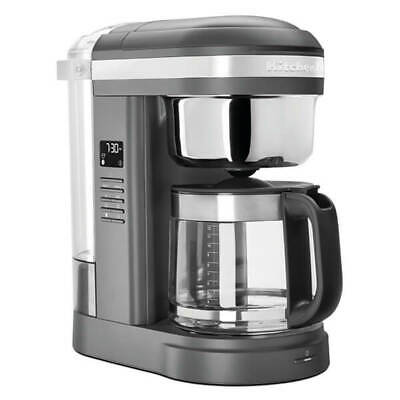 View Details KitchenAid 12 Cup Classic Drip Coffee Maker Charcoal Grey • 119.00£