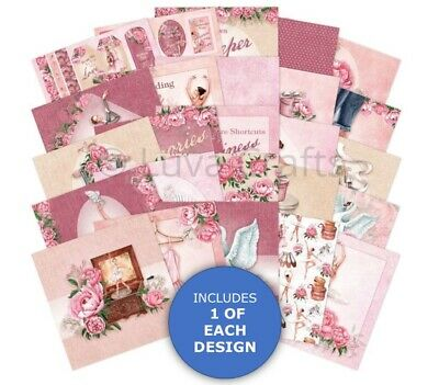 Hunkydory The Square Little Book Of Ballet Sample Pack 25 Sheets X 150gsm • 2.99£
