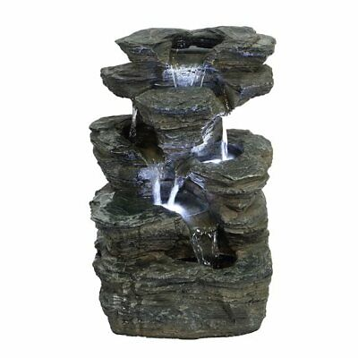 Indiana Slate Falls Water Feature Ideal Garden & Patio Gift Idea • 99£