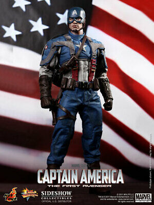 $ CDN926.72 • Buy Hot Toys Captain America - The First Avenger 1/6 Figure *NEW  Sideshow Exclusive