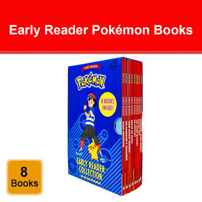 The Official Pokémon Early Reader 6 Books Box Set Collection With Full Colour  • 17.48£