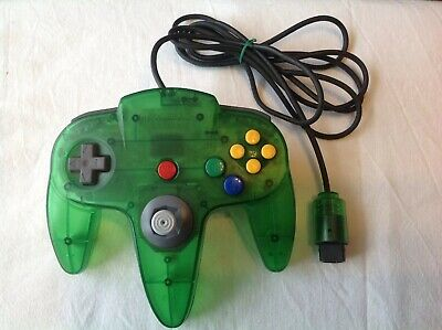 AU60 • Buy N64 Clear Green Controller Only Tested New Toggle