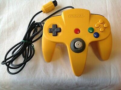 AU60 • Buy Genuine Authentic Original Nintendo 64 Controller Only Yellow N64 Used