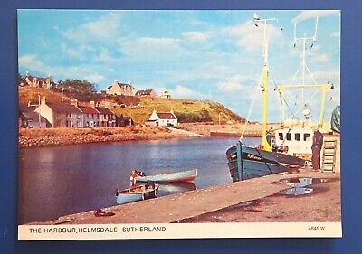 Helmsdale - Sutherland -The Harbour -  1980s/90s - Unposted • 0.99£