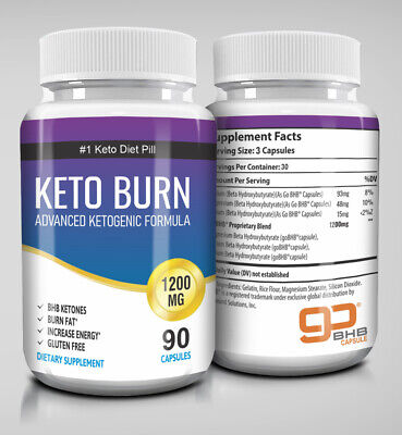 $19.47 • Buy ☀ Best Keto Diet Pills 1200mg Burn Fat- Advanced Ketosis Weight Loss Capsules