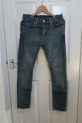 Levis Jeans 519 Dark Blue. Good Condition. W30 L32 • 30£