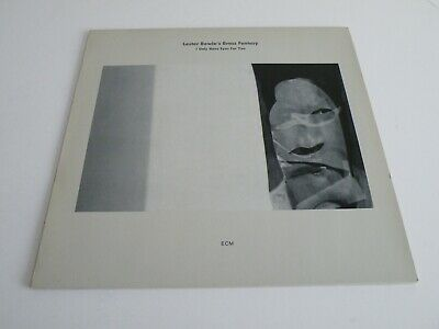 Lester Bowie Bowie's Brass Fantasy 'i Only Have Eyes For You' Lp Germany Ecm '85 • 0.99£
