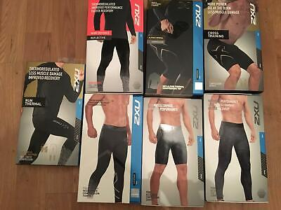 2XU Thermoregulated Less Muscle Damage Improved Recovery Tights • 30£