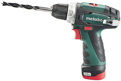 Metabo 600080500 10.8 V Powermaxx BS Drill Driver With 2 X 2 A Batteries - • 126.68£