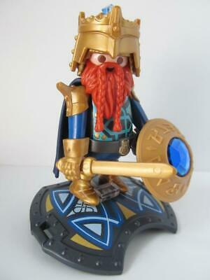Playmobil Castle/Knight/Fairytale Figure: Dwarf King & Carrying Platform EW • 5.99£