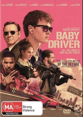 AU7.90 • Buy Baby Driver - Kevin Spacey - New & Sealed Region 4    Tz1