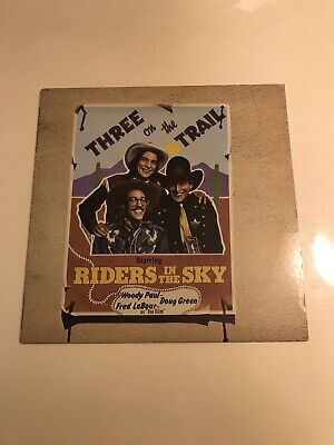 Riders In The Sky - Three On The Trail - Vinyl LP • 4.50£