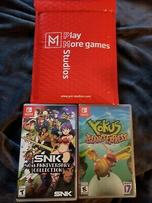 $56 • Buy Nintendo Switch Games Lot (3)