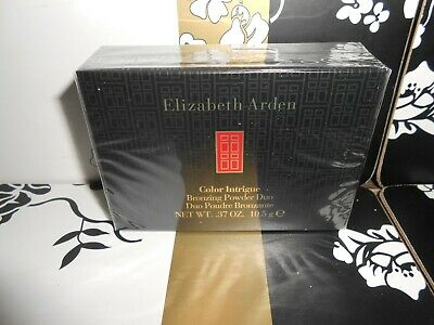 New Elizabeth Arden Color Intrigue Bronzing Powder Duo Comes With Kabuki Brush  • 20£