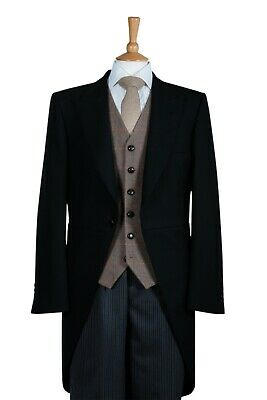 £99 • Buy Black Tailcoat Ex Hire Morning Jacket Royal Ascot Wedding Dress Tails From £59