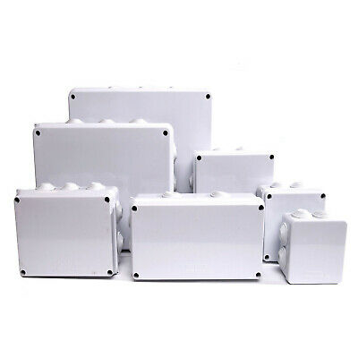 IP65 Waterproof Junction Box Enclosure Terminal Electric Cable Connector Outdoor • 4.89£