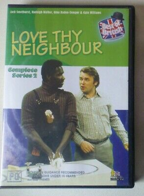 AU19.99 • Buy LOVE THY NEIGHBOUR SERIES 2 Dvd REGION 0 ALL Comedy COMPLETE SECOND SEASON Uncut