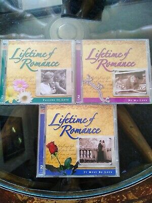 Time Life Cds Lifetime Of Romance 3 Double Cds 98 Tracks6cds Great Condition  • 5.99£
