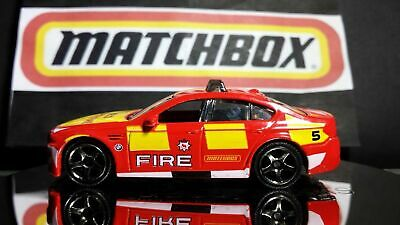 $7.98 • Buy Matchbox Fire BMW M5 RESCUE RED AND YELLOW ENGLAND