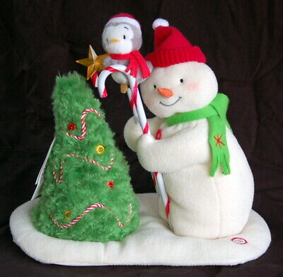 $79 • Buy Hallmark JINGLE PALS ~ Snowman / Ladder ~ 2010 ~ Clean And Working ~ Tags