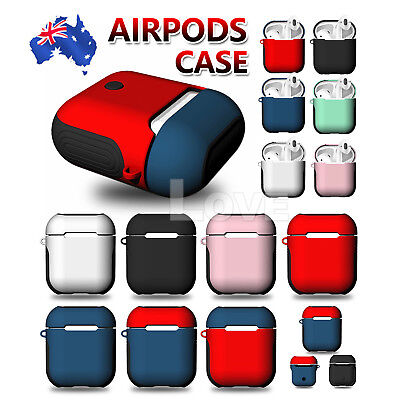 AU10.85 • Buy For Apple Airpods Case Airpod Silicone Case Cover Skin Accessories Shockproof