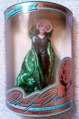 Marilyn Monroe Collectors Series Doll - Emerald Evening Marilyn • 29.99£