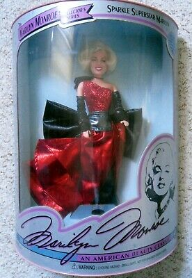 Marilyn Monroe Collectors Series Doll - Sparkle Superstar Marilyn • 29.99£