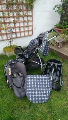 Graco 3 IN 1 Travel System - PRAM, PUSHCHAIR & CARSEAT • 70£
