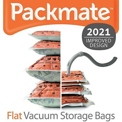 PackMate Flat Vacuum Storage Bags - Clothing, Bedding, Cushions/Pillows  • 21.99£