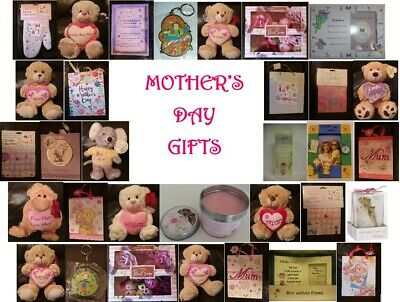 Mother's Day Cards & Gifts ~ Bags, Tea Towel, Apron, Frame, Candle, Bears & More • 6.99£