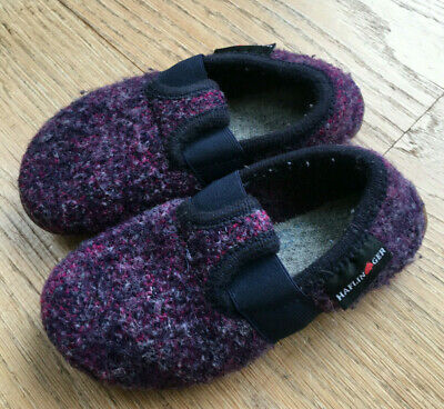Haflinger Wool Childrens Slippers Boys/Girls EU 26 • 9.99£
